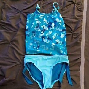 Girls Justice 2 pc swim suit 12